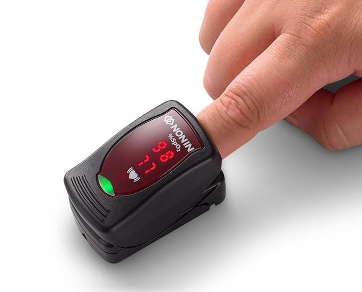 NOLIKTAVĀ! *Augstākās kvalitātes pirksta pulsa oksimetrs Nonin Medical's Onyx Vantage 9590/Pulse oximeter. Ražots (Nonin Medical Inc., ASV). Reģistrēti Zāļu valsts aģentūrā