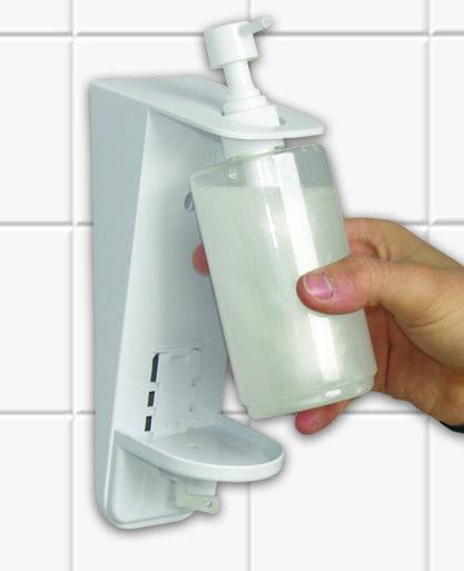 Roku dezinfekcijas līdzekļa dozators gēlveida dezinfekcijas līdzekļiem, 300 ml