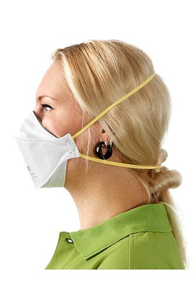NOLIKTAVĀ! *Sertificēts respirators/sejas maska 3M FFP1, bez vārsta