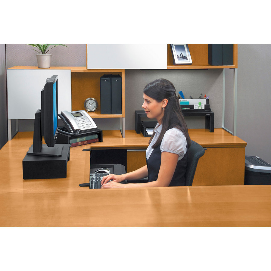 Monitora paliktnis Fellowes Designer Suites™ Monitor Riser