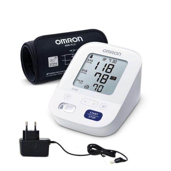 Asinsspiediena mērītājs OMRON M3 Comfort + adapters