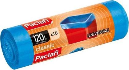 Atkritumu maisi CLASSIC UNIVERSAL, 120 litri, 10 gab., zili