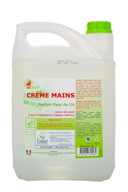 NOLIKTAVĀ! Ekoloģiskas šķidrās krēmziepes Idegreen, 5 litri