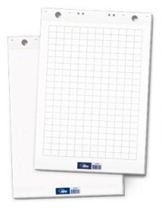 Papīra bloks tāfelēm Flipchart, balts, 60x85cm, 20 lpp.