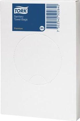 Sanitārie atkritumu maisi TORK B5 sistēmai, 25 gab.