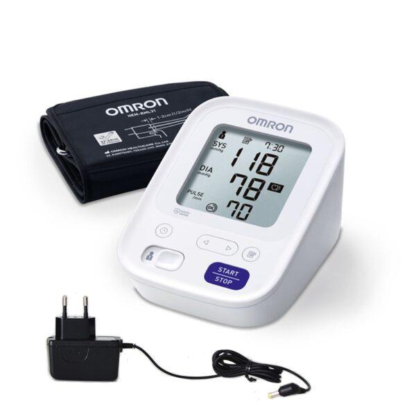Asinsspiediena mērītājs OMRON M3 + adapters