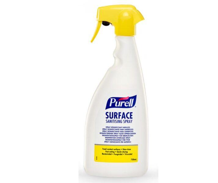 NOLIKTAVĀ! *Augstas kvalitātes virsmu dezinfekcijas līdzeklis uz alkohola bāzes, 750 ml. Iedarbojas pret baktērijām, sēnītēm un vīrusiem