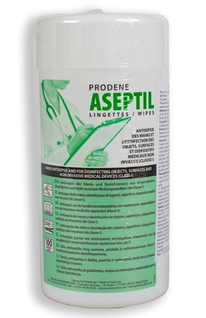 NOLIKTAVĀ! *Augstas kvalitātes antiseptiskas un dezinficējošas salvetes rokām, priekšmetiem, virsmām un I klases medicīniskajām ierīcēm. Plaša spektra iedarbība (baktērijas, rauga sēnītes, vīrusi), 100 gab.