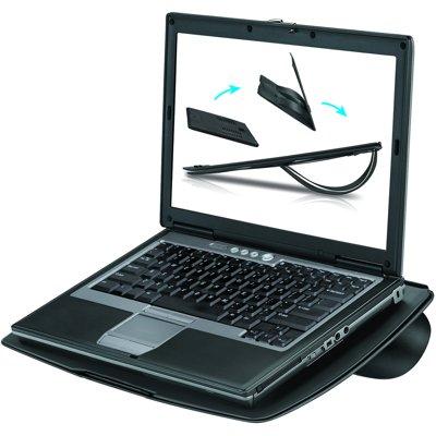 Ventilējams paliktnis portatīvam datoram Fellowes LAPTOP GO RISER