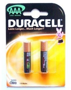 Baterijas Duracel AAA /LR03/MN2400 COPPER&BLACK PLUSS, 2gab.