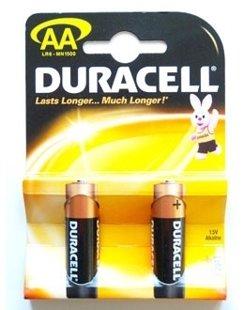 Baterijas Duracel AA /LR6/MN1500 COPPER&BLACK PLUSS, 2gab.