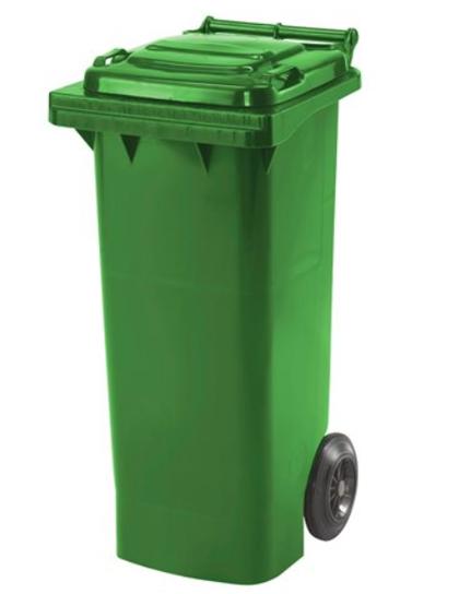 *Atkritumu konteiners, 80 litri, zils, zaļš vai pelēks