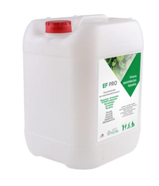 NOLIKTAVĀ! Dezinfekcijas līdzeklis EF PRO rokām un virsmām, 10 litri
