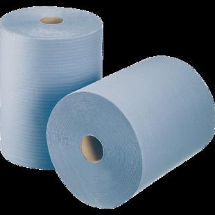 *Industriālais papīrs WEPA COMFORT, 1 rullis, 350m, 2 kārtas. Izturīgs un mīksts, ar augstu uzsūktspēju
