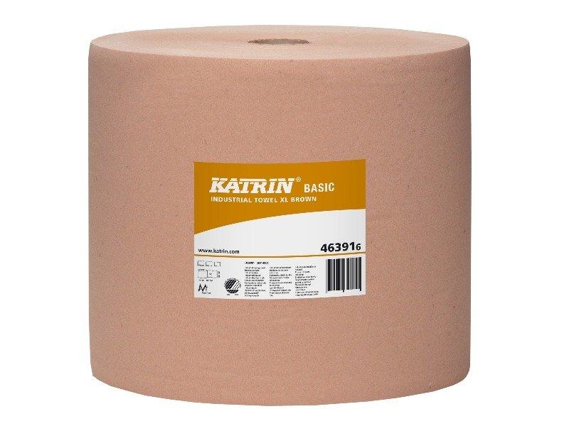 *Augstas kvalitātes industriālais papīrs KATRIN BASIC XL, 1 rullis, 1000m, 1 kārta, d.32x37cm