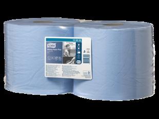 Industriālais papīrs TORK ADVANCED WIPER 420 BLUE, 2 ruļļi, 2 kārtas, 255m. Izturīgs un mīksts ar augstu absorbētspēju