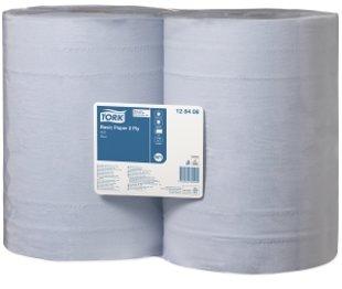 Industriālais papīrs TORK BASIC PAPER, 2 ruļļi, 2 kārtas, 340m. Piemērots izmantošanai lielas noslodzes vietās. Izmanto ūdens un šķīdinātāju saslaucīšanai