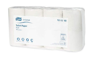Tualetes papīrs TORK UNIVERSAL T4, 64 gab.